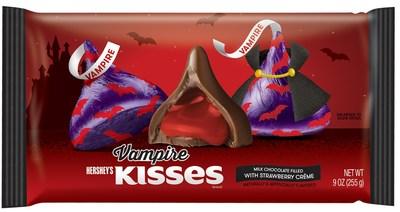 Hershey's Kisses Vampire milk chocolates