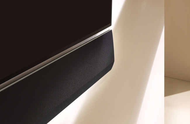 LG GX sound bar delivers superior immersive theater sound thanks to Dolby Atmos and DTX:S for remarkable three-dimensional audio.