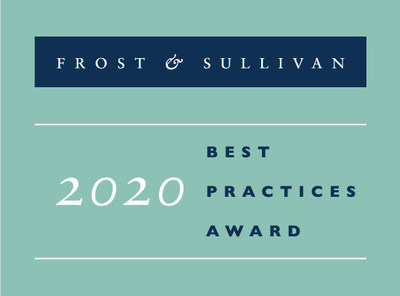 Frost & Sullivan 2020 Best Practices Award