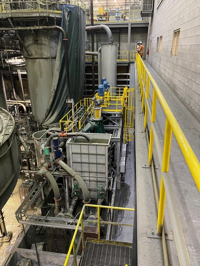 Copper Mountain Mining Announces Commissioning of Direct Flotation Reactors at the Copper Mountain Mine (CNW Group/Copper Mountain Mining Corporation)