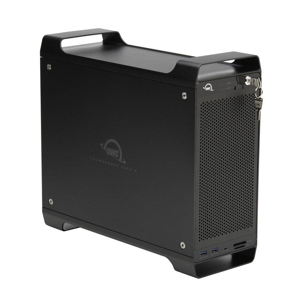 OWC's ThunderBay Flex 8 media workflow solution