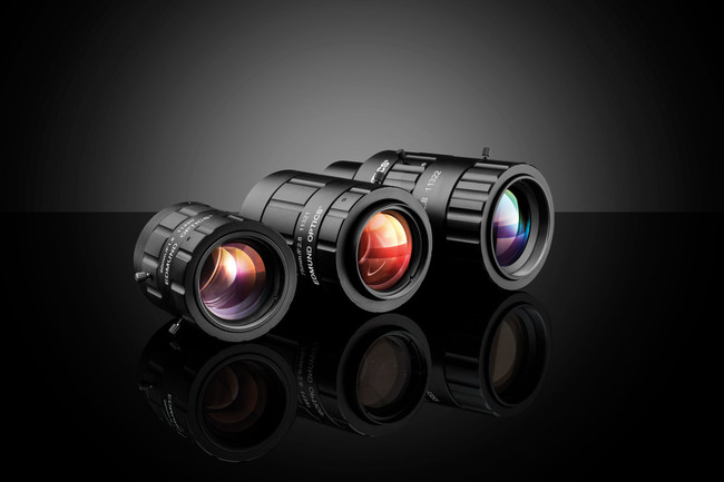 TECHSPEC® CA (Compact APS) Series Fixed Focal Length Lenses are designed for high resolution large format sensors.
