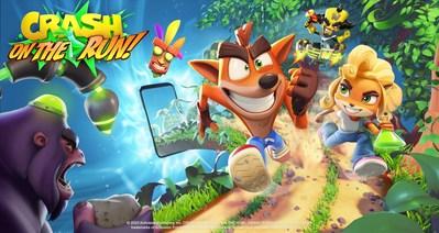 King, Crash Bandicoot: On the Run!
