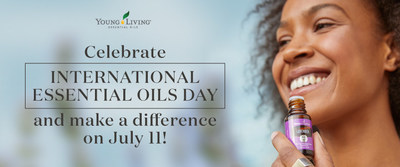 Young Living Celebrates Third Annual Essential Oils Day