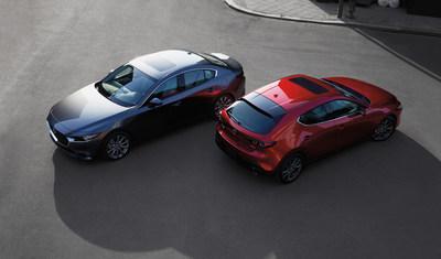 2021 Mazda3/Mazda3 Sport (CNW Group/Mazda Canada Inc.)