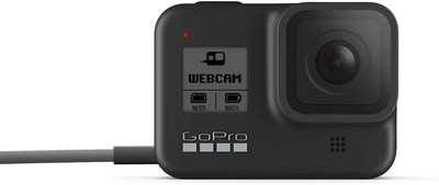 GoPro HERO8 Black Now Works as an HD Webcam. The Beta Firmware Brings GoPro Wide-Angle Perspectives to Video Calls, Virtual Classes + Online Events—No Third-Party Accessories Required.