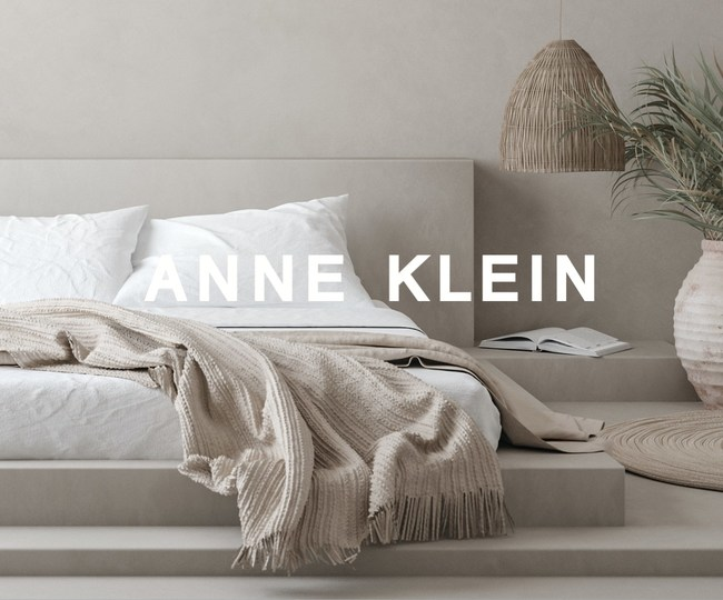 Anne Klein Home Collection to launch Spring 2021.