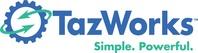 TazWorks logo (PRNewsfoto/TazWorks)