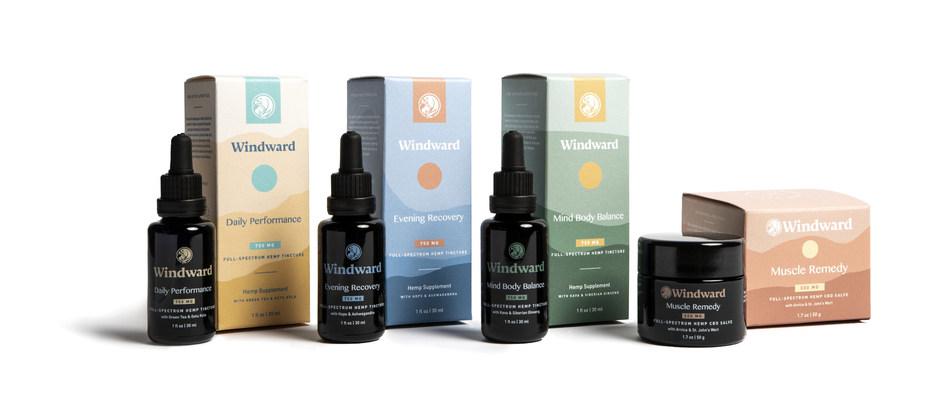 Windward Organic CBD Product Collection
