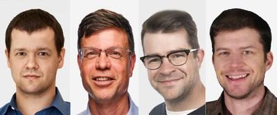AMP's New Advisors Gene Berdichevsky, Kurt Kelty, Phil Weicker and Troy Nergaard