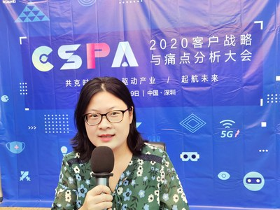 Dr. Jiang Ming, vice chair of Industry Specification Group F5G (ISG F5G) at the European Telecommunications Standards Institute (ETSI) [Photo courtesy of Jiang Ming]