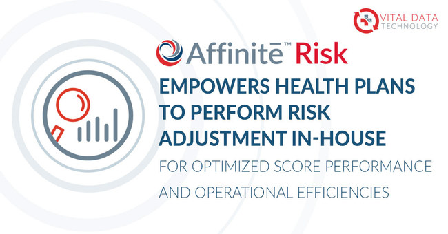 Vital Data Technology launches Affinite Risk to Enable Health Plans to Perform Risk Adjustment In-house