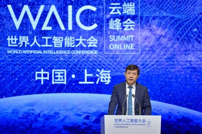 Robin Li set out his elaborate vision for the future of AI during a keynote speech at the WAIC