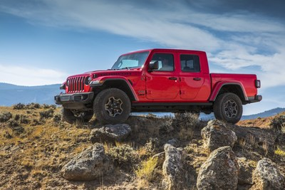 New 2021 Jeep® Gladiator EcoDiesel: Ultimate Capability and Driving Range, With 442 lb.-ft. of Torque for Improved Performance