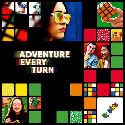 Rubik's is focusing on the solve with an Adventure Every Turn (picture credit: www.rubiks.com)