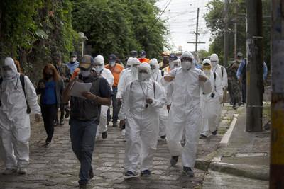 El gobierno de Honduras habilita más triajes e incrementa brigadas médicas para detectar masivamente el COVID-19 en barrios y colonias