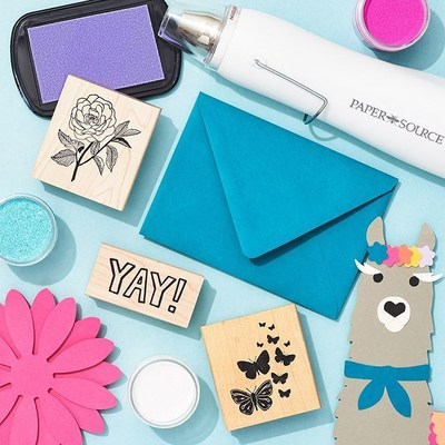 Paper Source Kids Club subscription box delivers DIY projects for at-home creativity.