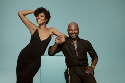 Gabrielle Union and Larry Sims for Flawless by Gabrielle Union
