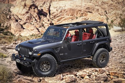 Jeep Tries To Spoil Bronco Reveal With Wrangler Rubicon 392 Concept