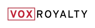 Vox Royalty Logo (CNW Group/Vox Royalty Corp.)