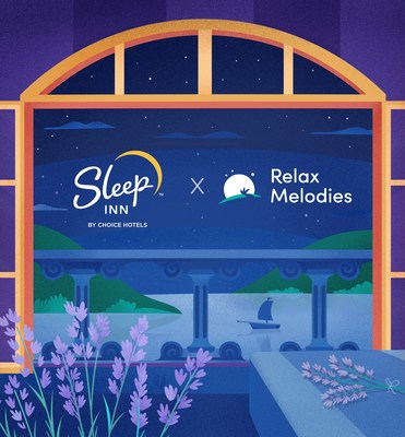 Sleep Inn is now offering complimentary, ad-free access to the premium version of the Relax Melodies app to all guests for the duration of their stay.