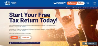 United Way's MyFreeTaxes.org, a hotline, and texting options provide several ways to aid Californians with their taxes in a free, quick, and trustworthy way.