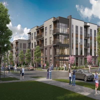 Alta Davis will feature 403 apartment units across seven buildings, each four stories.