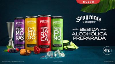 FIFCO llega a México y apuesta fuerte en la industria de bebidas alcohólicas con Seagram's Escapes