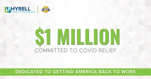 Hyrell exceeds $1 Million in COVID Relief Commitment