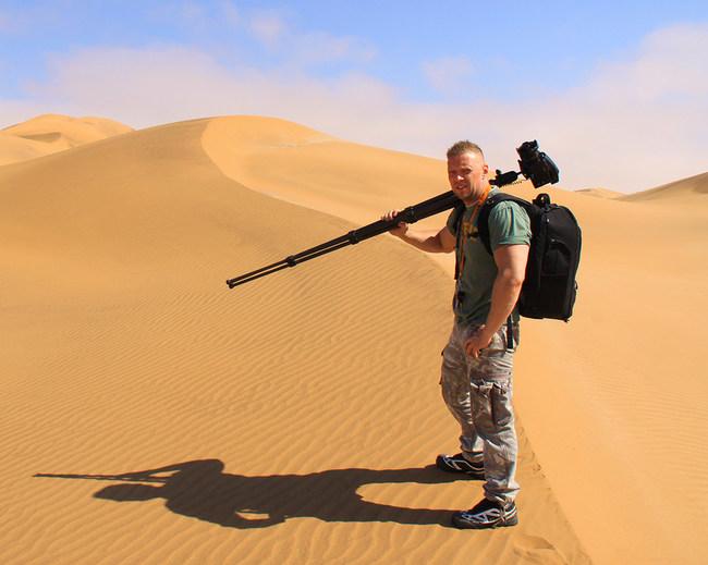 Alexander Vershinin workshop in Namib Desert