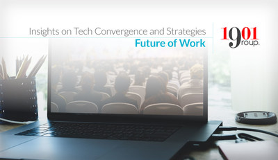 """""""Organizations need to focus on integrating and building a workforce that can support the pace of change,""""  George Batsakis, EVP and Chief Strategy Officer, 1901 Group."""