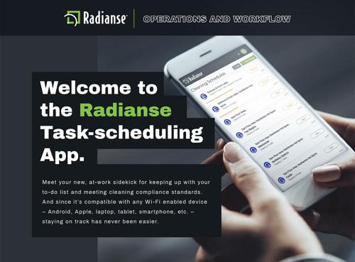 Radianse Task-scheduling App