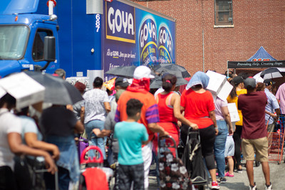 Since its founding in 1936, Goya Foods has a longstanding history of donating millions of pounds of food in times of disaster and desperate need through the company's global program Goya Gives.
