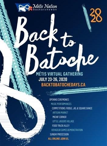 Poster (CNW Group/Métis Nation - Saskatchewan)