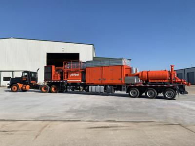 La pompe de fracturation à turbine Jereh termine un essai de 1000 heures sur le terrain en Amérique du Nord