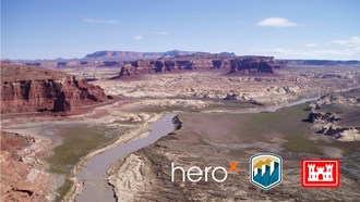 """The Bureau of Reclamation and NASA Tournament Lab's """"Guardians of the Reservoir"""" challenge on the crowdsourcing platform, HeroX"""