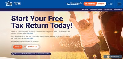 United Ways in California offer free tax filing services, even at this late date. Read this story for exact details and visit MyFreeTaxes.org to get started or call 866-698-9435, 7 a.m. to 3 p.m., Monday through Friday, or text TAXES to 211211.