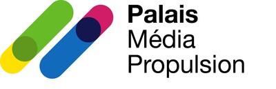 Logo de Palais Média Propulsion (Groupe CNW/Palais des congrès de Montréal)