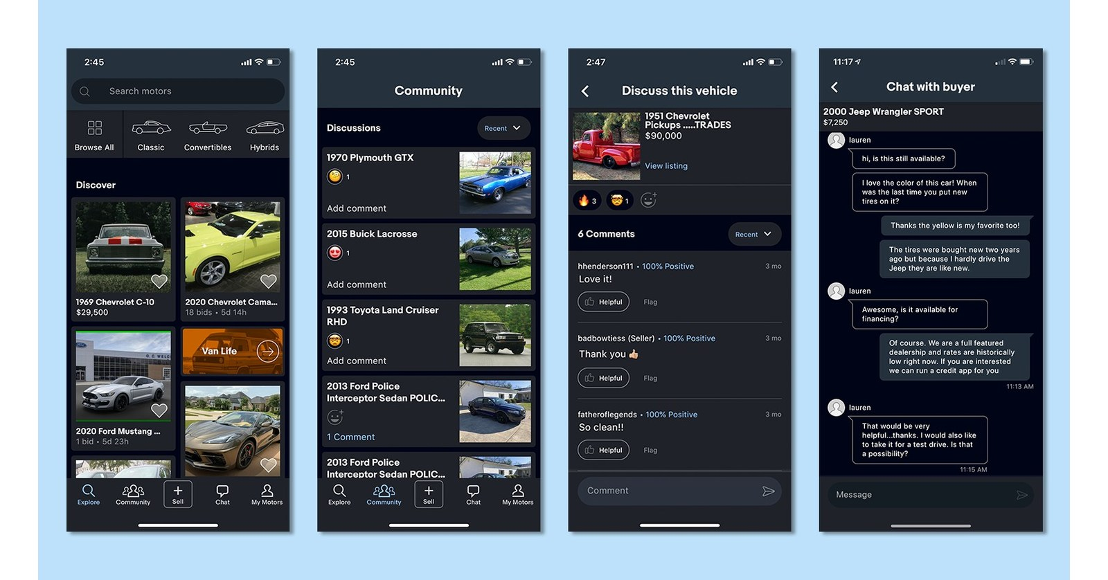 Ebay Motors Mobile App Launches Escrow And New Chat Features