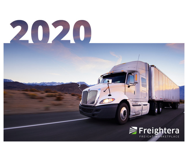 Cover image for Freightera 2020 media kit. Please find it with this press release under Related Files.