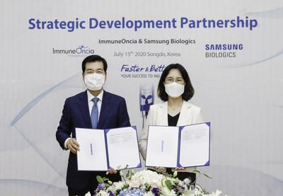 Samsung Biologics - ImmuneOnecia Signing Ceremony