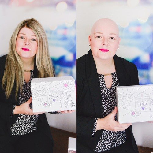 Woman on Mission To Help Normalize Hair Loss.  Heather Scott, Founder of the Toronto based Helper Hair Box, a subscription box for women and children with hair loss.    Heather has had alopecia since the age of 3 and is giving back to children with hair loss, she is donating a portion of boxes to children with hair loss and also donating wigs to children who need them.  Helper Hair Box is currently on Kickstarter www.helperhairbox.com (CNW Group/Helper Hair Box)
