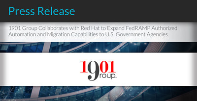 """""""Working in FISMA and FedRAMP environments takes specialized expertise and experience. Red Hat supports the collaboration with 1901 Group, and we believe our collective successes within the federal market demonstrate a positive example to other agencies of efficient cloud migration, improved cybersecurity, and cost-effective IT modernization,"""" said Tricia Fitzmaurice, Director, National Security Programs and Federal Law Enforcement, Red Hat."""