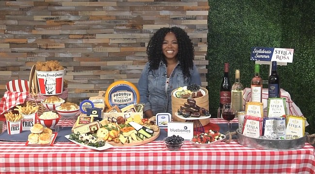Chef Tregaye Fraser share her tips for the perfect picnic.