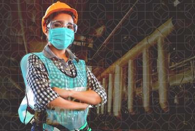 Avec la première vague du virus qui s'estompe, les mesures de déconfinement se poursuivent et les propriétaires d'entreprises, cadres et décideurs ressentent la pression de relancer leurs opérations en toute sécurité. (Groupe CNW/Nuvoola)