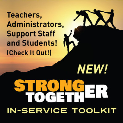 A virtual solution to inspire a more empowered and emotionally strong school culture for teachers and students. (https://www.inservicetoolkit.com/)