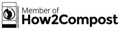 Logo de How2Compost (Groupe CNW/Club Coffee)