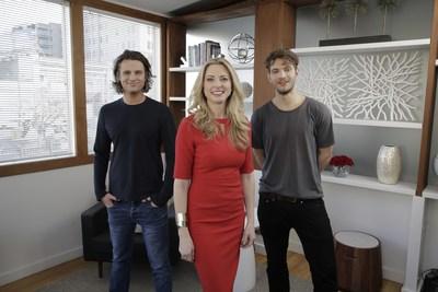 Lover Co-Founders Jas Bagniewski, Dr. Britney Blair, Nick Pendle