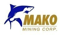 Mako Mining Corp. - Logo (CNW Group/Mako Mining Corp.)