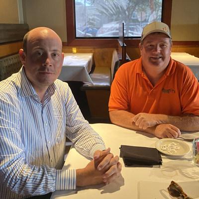 Dan Eberhart & Joe Barrett closing the deal in Englewood, FL.